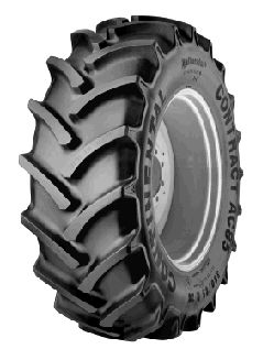 Marathon Tires Flat-Free Lawnmower Tire — 3/4in. Bore, 11in. x 4
